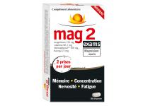 MAG 2 EXAMS MAGNESIUM MARIN 30 COMPRIMES