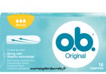 OB ORIGINAL TAMPON NORMAL SANS APPLICATEUR BOITE DE 32
