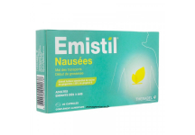 EMISTIL NAUSEES GROSSESSE ET MAL DES TRANSPORTS DES 3 ANS 20 CAPSULES