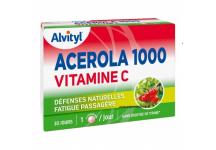 ACEROLA 1000 VITAMINE C ALVITYL 30 COMPRIMES A CROQUER