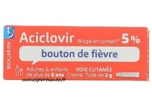 ACICLOVIR 5% BIOGARAN CONSEIL TUBE 2GR
